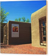 The Georgia O'keeffe Museum In Santa Fe Wood Print