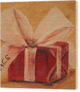 The Gift Wood Print