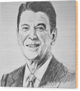 The Gipper Wood Print