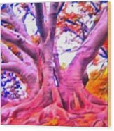 The Giving Tree 3 Wood Print