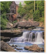 The Glade Creek Mill Wood Print