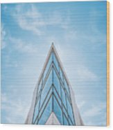 The Glass Tower On Downer Avenue Wood Print