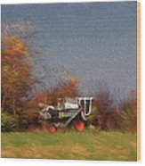 The Gleaner In Repose Wood Print
