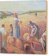The Gleaners Wood Print