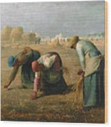 The Gleaners Wood Print