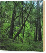 The Glorious Green Wood Print