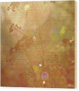 The Glow Wood Print