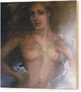 The Goddess Wood Print