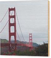 The Golden Gate Wood Print