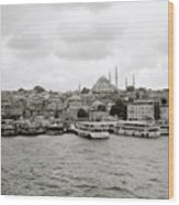 The Golden Horn Wood Print