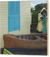 The Gordons Fisherman House Wood Print