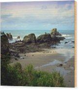 The Gorgeous Northwest Pacific Coastline Wood Print