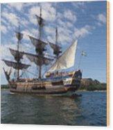 The Gothenburg Wood Print