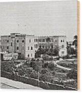 The Governor S Palace, Khartoum, Sudan Wood Print