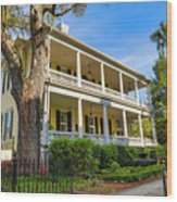 The Governor's House Inn Wood Print