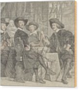 The Governors Of The Longbow Archers Wood Print