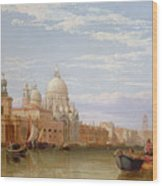 The Grand Canal - Venice Wood Print