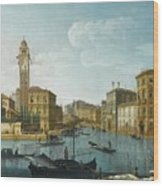 The Grand Canal At The Entrance Wood Print