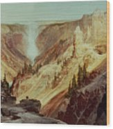The Grand Canyon Of The Yellowstone Wood Print