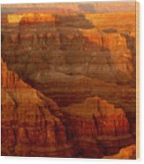 The Grand Canyon West Rim Wood Print
