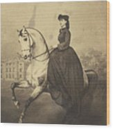 The Grand Duchess Alexandra Wood Print