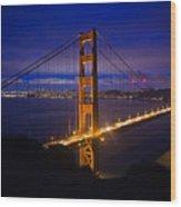 The Grand Golden Gate Wood Print