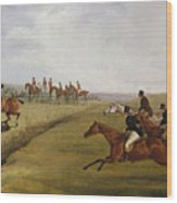 The Grand Leicestershire Steeplechase, March 12th, 1829 Wood Print