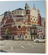 The Grand Opera House On Great Victoria Street, Belfast Wood Print