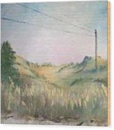The Grass Wood Print