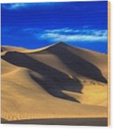 The Great Dunes National Park Wood Print