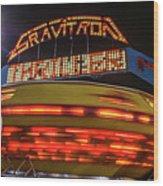 The Gravitron Wood Print