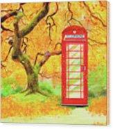 The Great British Autumn Wood Print