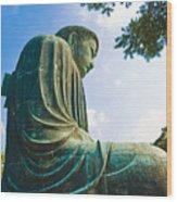 The Great Buddha Wood Print