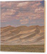 The Great Colorado Sand Dunes  177 Wood Print