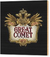 The Great Comet Wood Print
