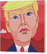 The Great Dictator Wood Print