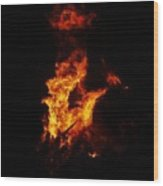 The Great Fire Wood Print