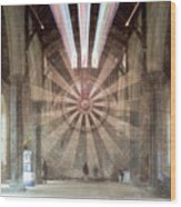The Great Hall, Winchester Castle, Hampshire Zoom Burst Wood Print