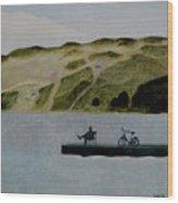 The Great Nida's Dune Wood Print