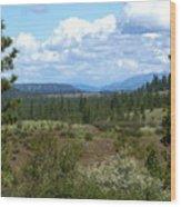 The Great Northwest Wood Print