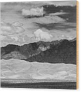 The Great Sand Dunes Panorama 2 Wood Print