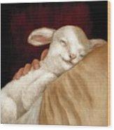 The Great Shepherd's Love Wood Print