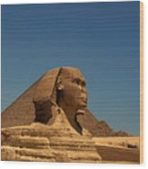 The Great Sphinx Of Giza 2 Wood Print