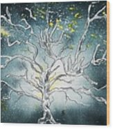 The Great Tree Wood Print