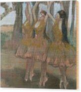 The Greek Dance Wood Print