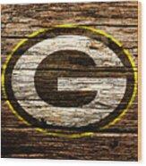 The Green Bay Packers 1b Wood Print