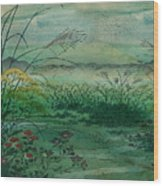 The Green, Green Grass Of Home Wood Print