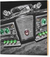The Green Hornet - Black Beauty Wood Print