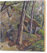 The Grotto Wood Print