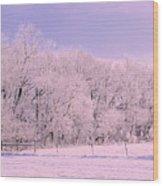 The Grove Wood Print by Julie Lueders
